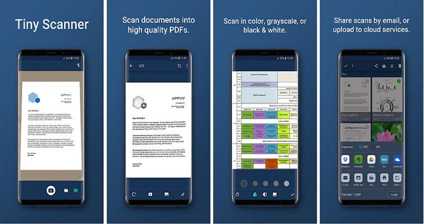 aplicaciones para escanear